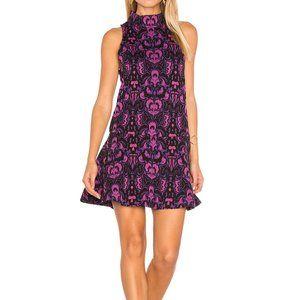 FREE PEOPLE Amelia Knit Dress in Purple - L